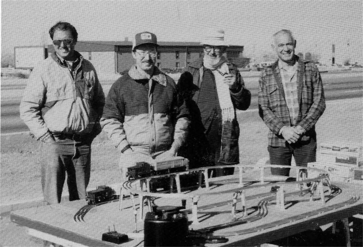 THE FIRST NEW MEXICO TOY TRAIN SWAP MEET IN 1985